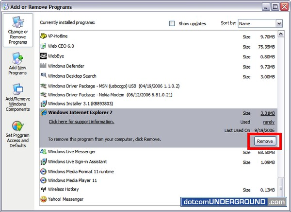 B Internet/b Explorer 7 Crack: Install/b IE7 Final bypassing WGA validati