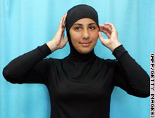 Burkini - swimming costume for muslim girls