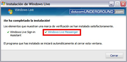 Windows Live Messenger 8.5 - Start WLM 8.5