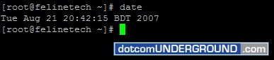 Linux Date Command
