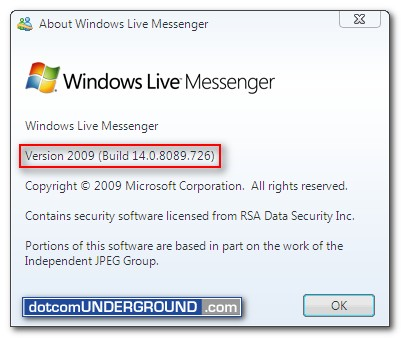 Windows Live Messenger 14.0.8089.726
