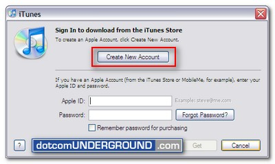 Create FREE iTunes App Store account without a credit card