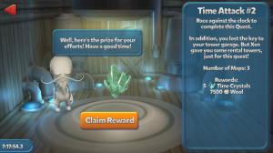TowerMadness - Time Attack Quest #2 Rewards